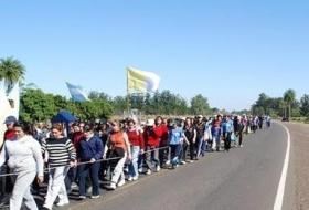 TODA LA FE: Miles de jóvenes se preparan para caminar hasta la casa de la Virgen Morena