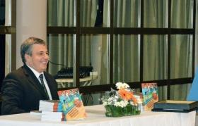 Rafael Fondón presenta su libro en la ciudad de Goya
