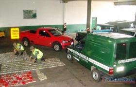 ITUZAINGÓ: Secuestraron 227 kilos de marihuana ocultos en una camioneta
