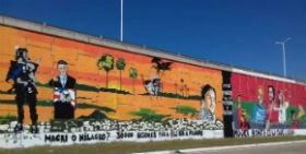 POLÉMICA EN CHACO: Mural y contramural en Resistencia