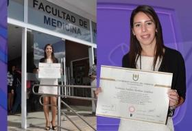 VERONICA ANDREA MEDINA GELABERT CULMINÓ SUS ESTUDIOS UNIVERSITARIOS