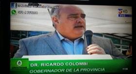 """Colombi: """"Quiero decirles a esos medios y periodistas corruptos y sinvergüenzas que no nos van a hacer cambiar"""""""