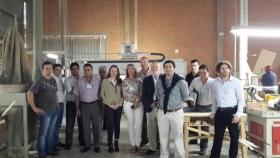 PLAN ESTRATÉGICO FORESTO INDUSTRIAL DE CORRIENTES: Funcionarios de Industria el polo mueblero de Brasil