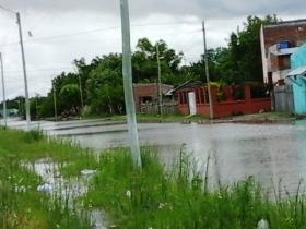 EN LA MADRUGADA DEL DOMINGO: Goya y Mercedes, bajo agua por intensas lluvias