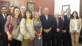 AUTORIDADES DEL CONSEJO FEDERAL DEL NOTARIADO ARGENTINO CON EL PRESIDENTE DE LA CÁMARA DE DIPUTADOS