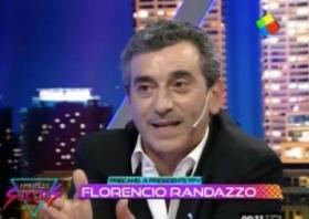 """FLORENCIO RANDAZZO: """"No vi llorar a Rabolini cuando un imitador manco le tocó la cola"""""""
