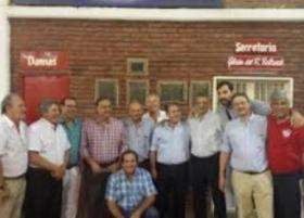 SOCIALES: LA COMISION DIRECTIVA DEL CLUB UNION SALUDA A PERUCHO CASSANI EN SU CUMPLEAÑOS
