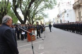 "RICARDO COLOMBI: ""Queremos policías con vocación e integrados a la sociedad"""