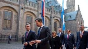 El premier holandés le dijo a Macri que su política está dando frutos