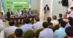 EN EL SALÓN VERDE DE CASA DE GOBIERNO: Presentaron el ATP Challenger Tour en Corrientes