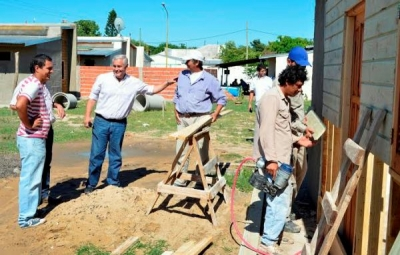 EL MUNICIPIO DE CAPITAL CONSTRUYE VIVIENDAS SOCIALES PARA FAMILIAS VULNERABLES