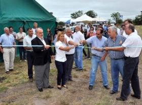 EN EL INTA: El gobernador abrió la muestra de Tecnologías para la Agricultura Familiar
