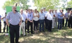 COLOMBI INAUGURÓ OBRAS ENERGÉTICAS QUE BENEFICIAN A LA POBLACIÓN RURAL DE CURUZÚ CUATIÁ