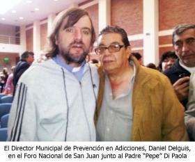 DIRECTOR DE PREVENCIÓN EN ADICCIONES PARTICIPO DE FORO NACIONAL EN SAN JUAN