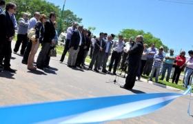 VISITA A LA MICRORREGIÓN RÍO SANTA LUCÍA: Colombi inauguró múltiples obras y rubricó convenios en Lavalle