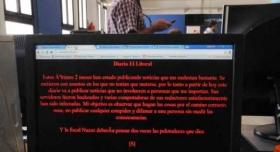 Hackearon la web de El Litoral de Santa fe para amenazar a una fiscal