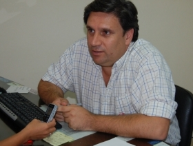 RUBÉN BASSI VINCULO UNA PUBLICACION AL MUNICIPIO