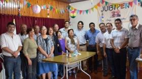 Asesor Letrado Municipal visitó las instalaciones del Centro de Jubilados y Pensionados Nacionales