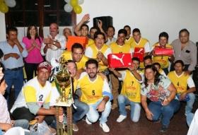 Torneo 2016: El Futbol Rural tuvo su noche de premiación