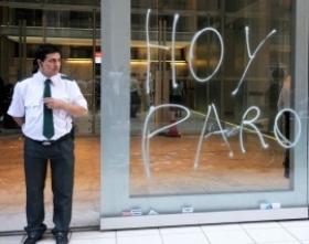 SIN ATENCIÓN AL PÚBLICO: Los bancarios ratificaron el paro del miércoles próximo
