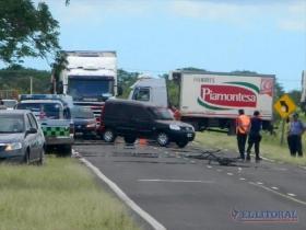 TRAGEDIA CERCA DE GOYA: Menor de 11 años murió luego de ser atropellado por un auto sobre la Ruta 12