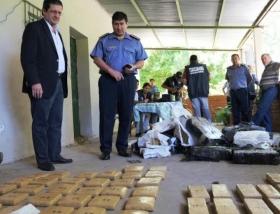 MÁS DE 600 KILOS DE DROGA DESBARATÓ LA POLICÍA PROVINCIAL EN SAN COSME