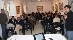 PERIODISTAS Y LOCUTORES DE GOYA Y LA REGION PARTICIPARON DE JORNADA DE CAPACITACION